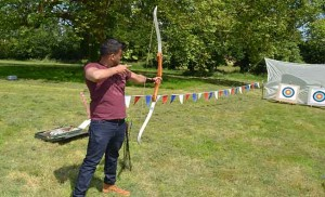 archery in devon