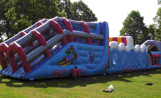 inflatables exeter devon