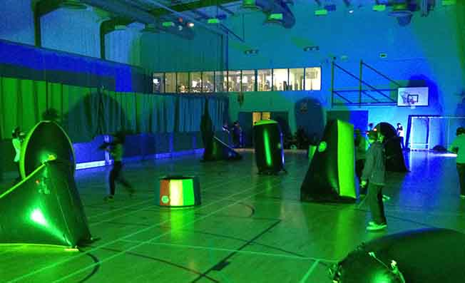 mobile laser tag exeter devon uk