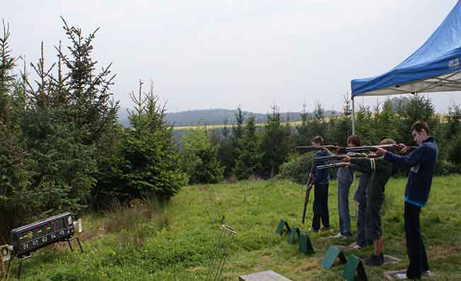 Laser Clay Shooting Exeter Devon