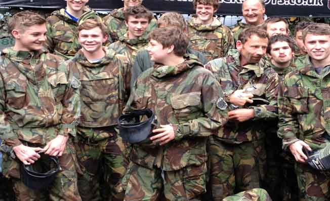 school paintball exeter devon