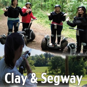 clay and segway voucher exeter