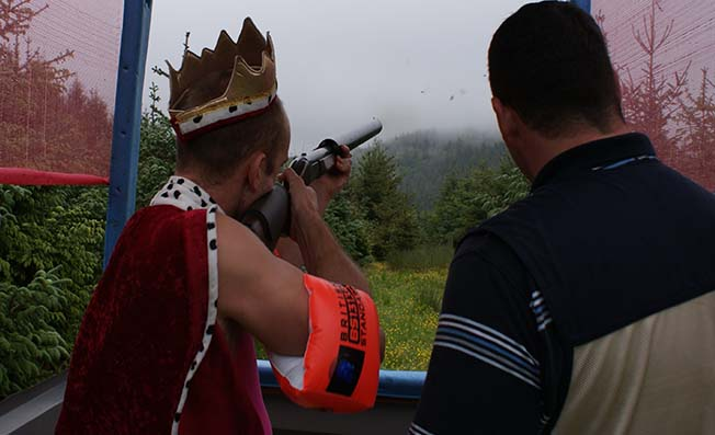 clay shooting exeter