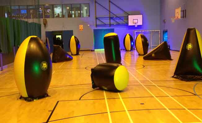 mobile laser tag school exeter devon