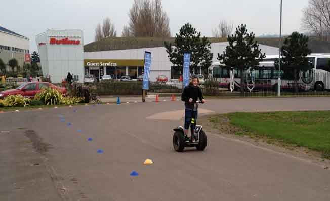 mobile segway hire exeter devon uk butlins
