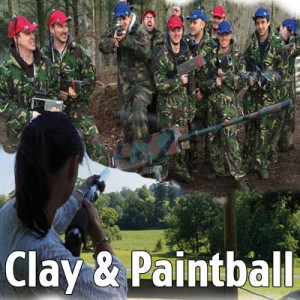 clay and paintball voucher exeter