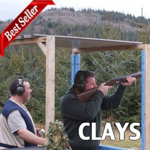 clay shooting exeter devon voucher