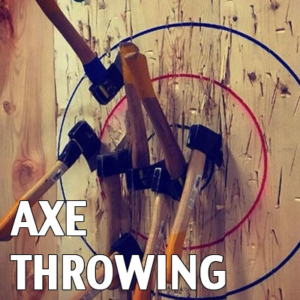 Axe Throwing exeter Devon
