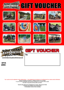 activity gift voucher exeter